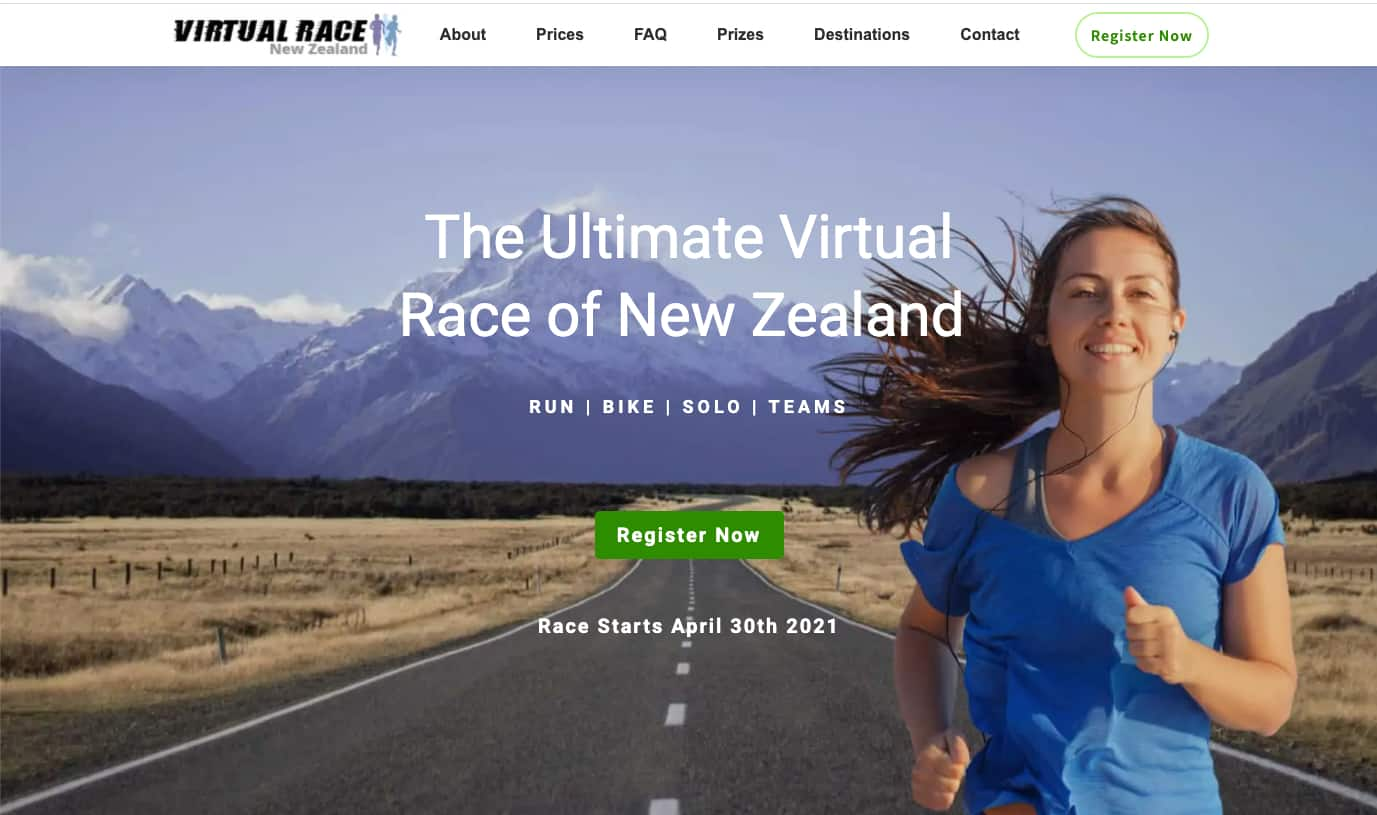 Virtual Race of New Zealand